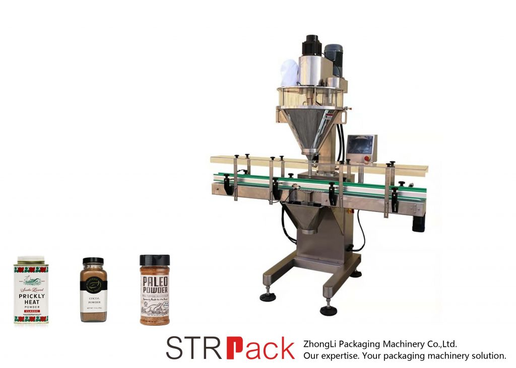 Автоматична машина для заповнення порошкового шнека