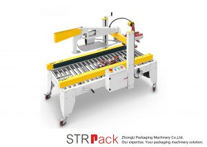 Автоматична машинка для ущільнення клейкої стрічки складної коробки