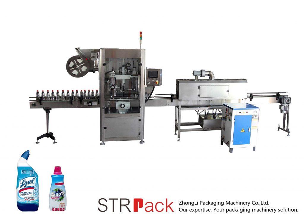 Автоматична маркувальна машина з термоусадочним рукавом