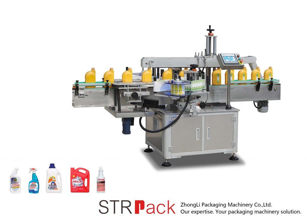 Автоматична машина для самоклеючої етикеток з одно- та двосторонніми сторонами