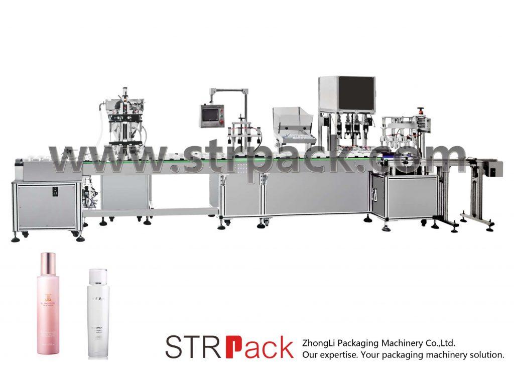 Автоматична машина для заповнення та укупування емульсії для води