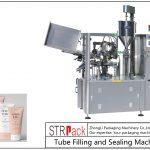 Машина для заповнення та ущільнення пластикової трубки SFS-100