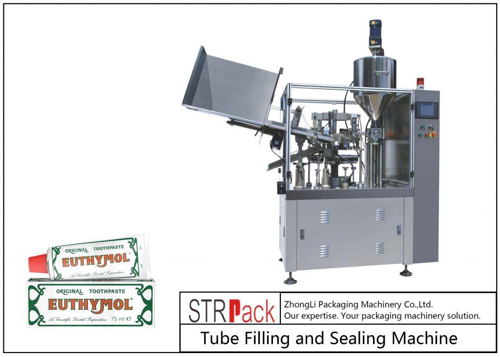 Машина для заповнення та герметизації металевих трубок SFS-60Z