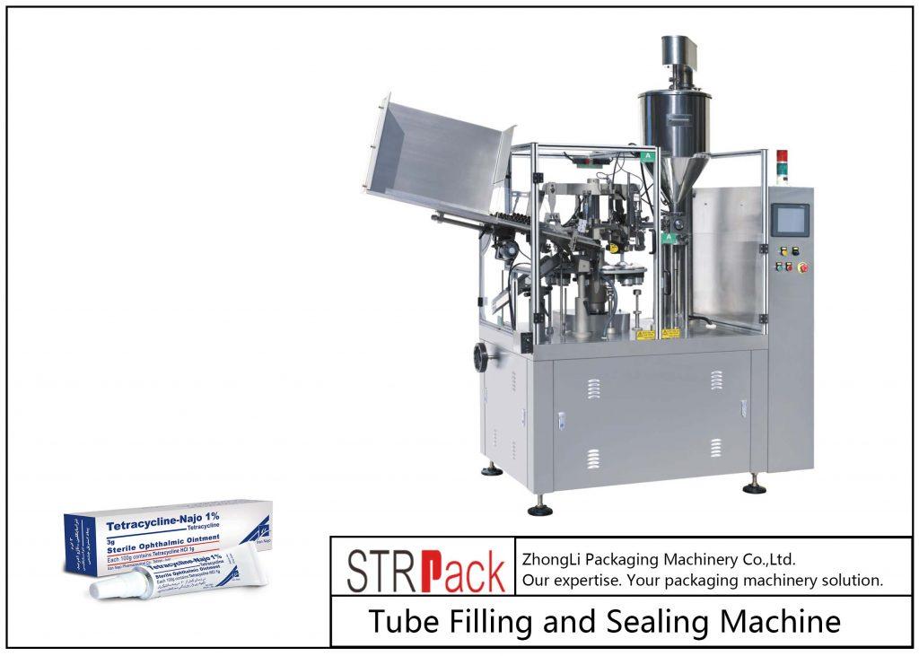 Машина для заповнення та герметизації металевих трубок SFS-80Z